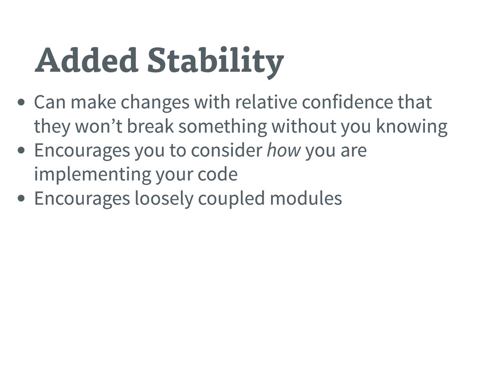 Added Stability Can make changes with relative ...
