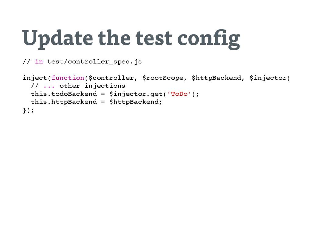 Update the test con g / / i n t e s t / c o n t...