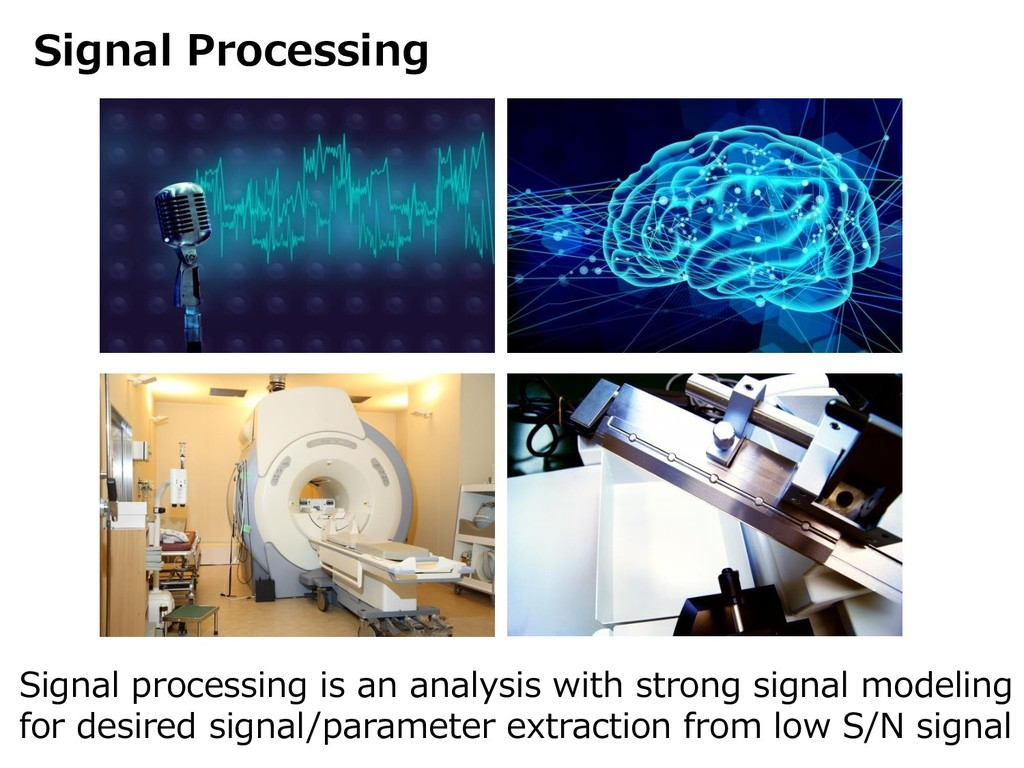 Signal Processing Signal processing is an analy...