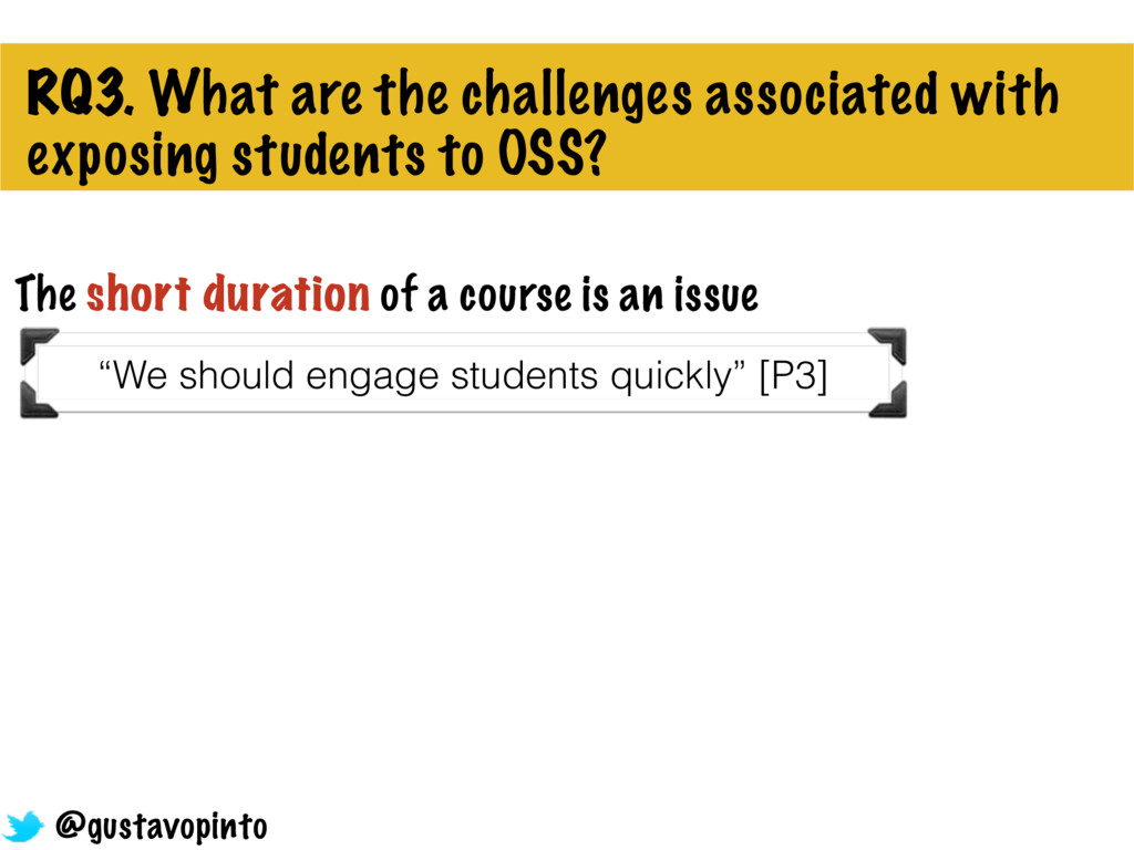 RQ3. What are the challenges associated with ex...