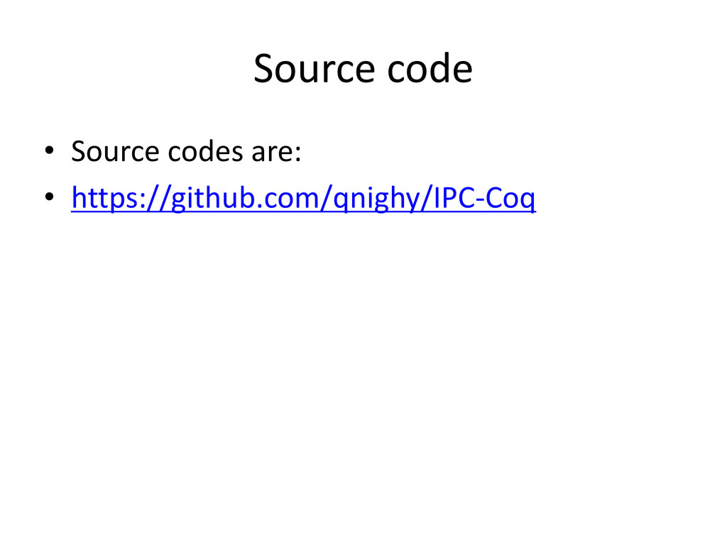 Source code • Source codes are: • https://githu...