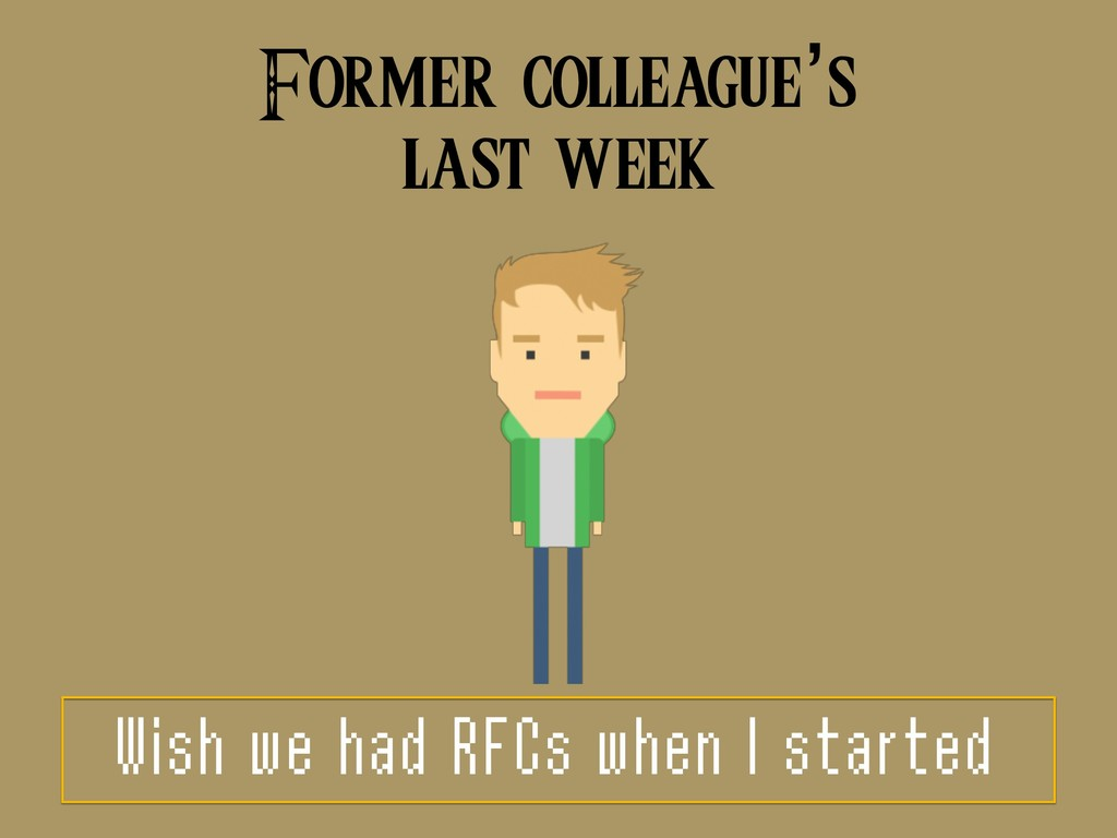 Former colleague's 
