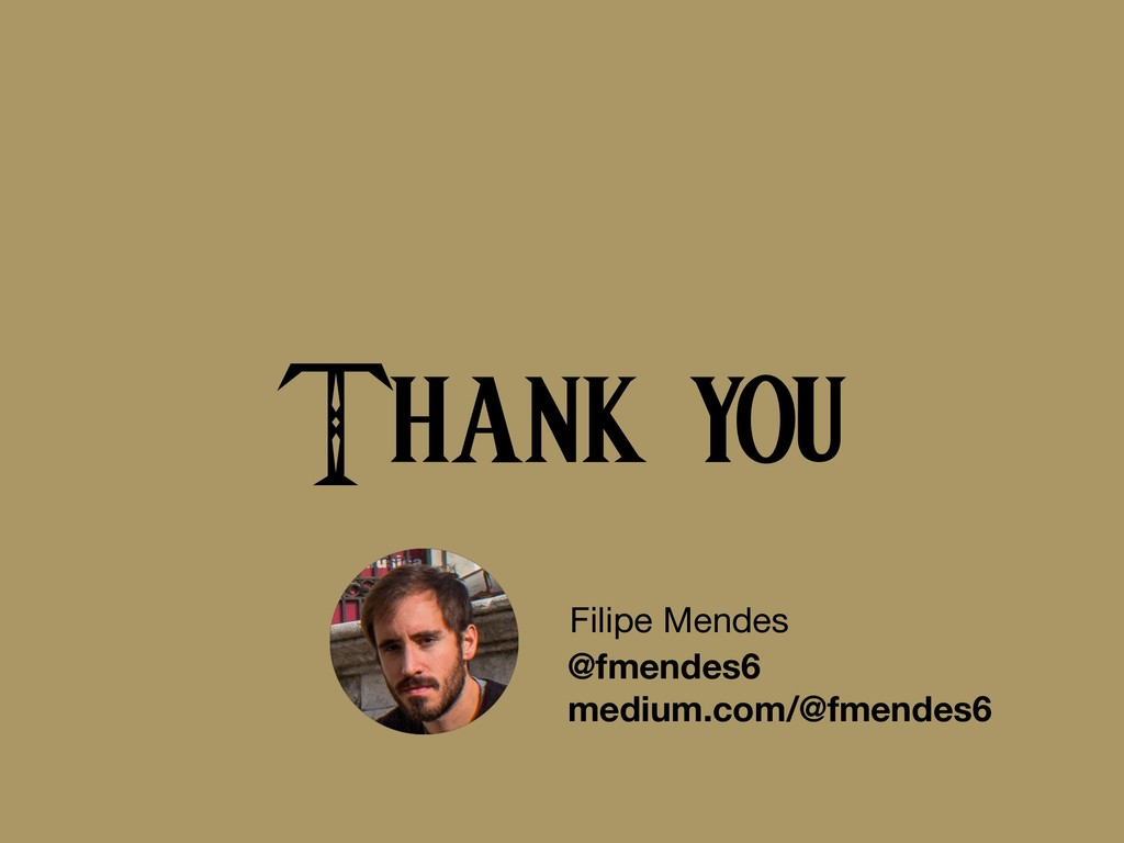 Thank you Filipe Mendes @fmendes6