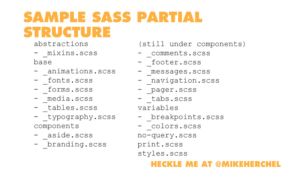 SAMPLE SASS PARTIAL STRUCTURE abstractions - _m...