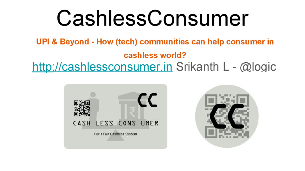 CashlessConsumer http://cashlessconsumer.in Sri...