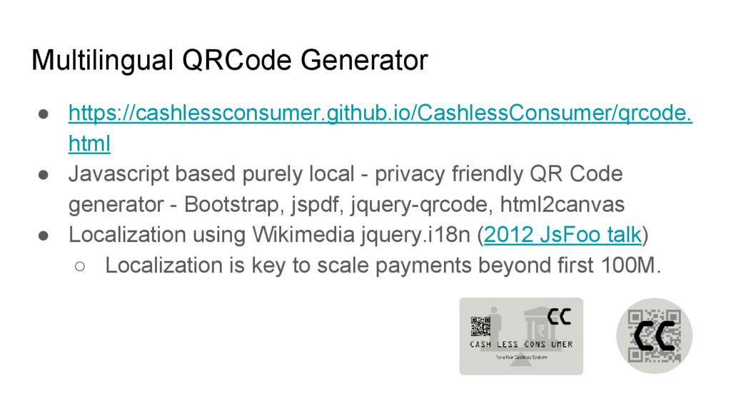 Multilingual QRCode Generator ● https://cashles...