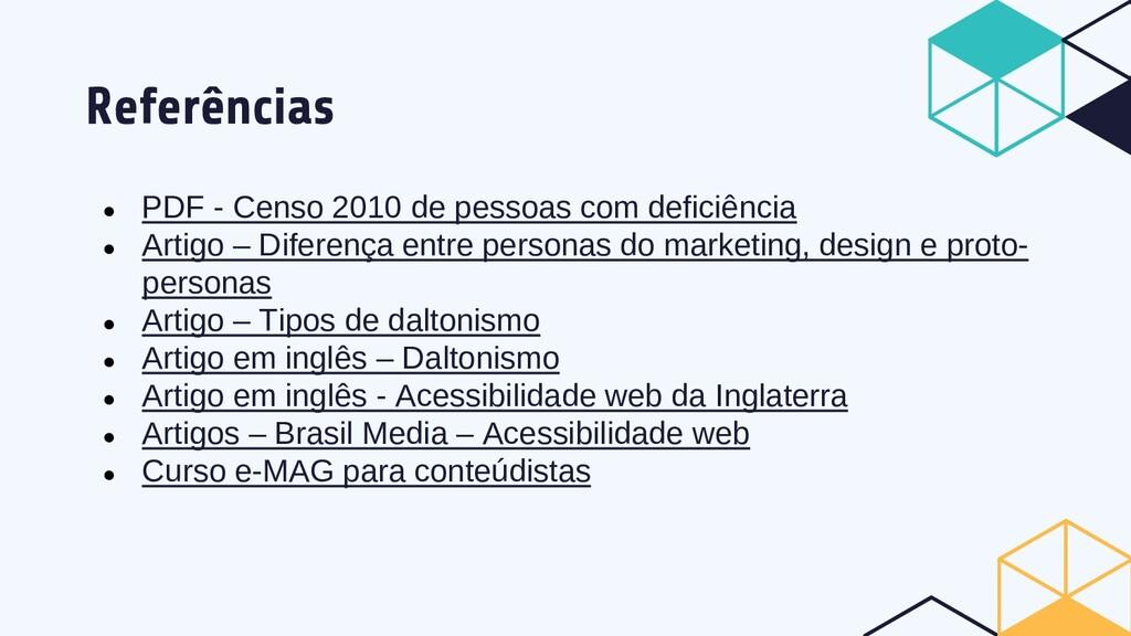 Referências ● PDF - Censo 2010 de pessoas com d...