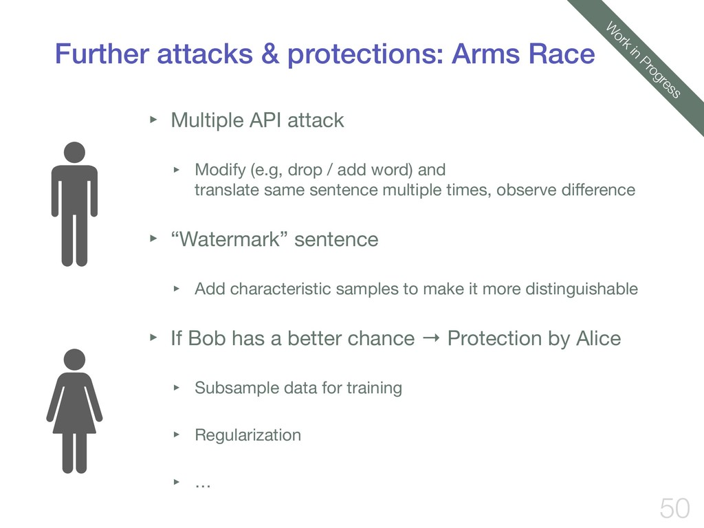 Further attacks & protections: Arms Race ‣ Mult...