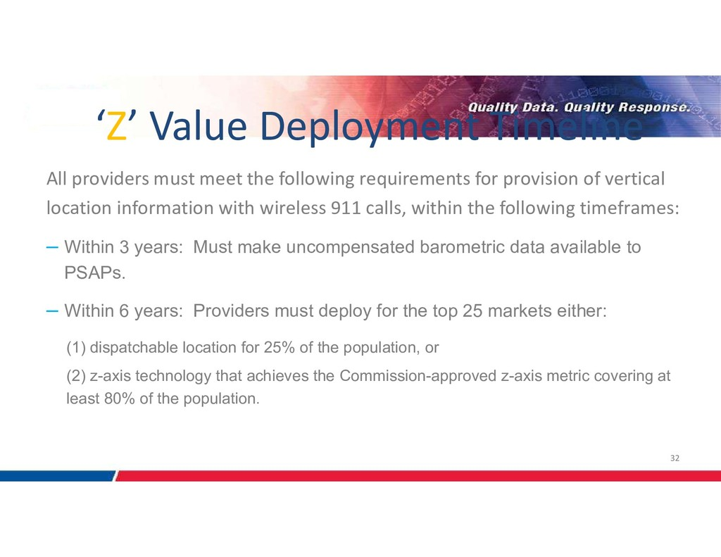 32 All providers must meet the following requir...