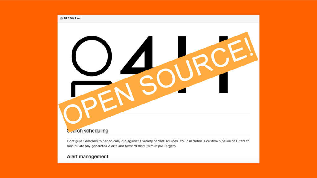 OPEN SOURCE!