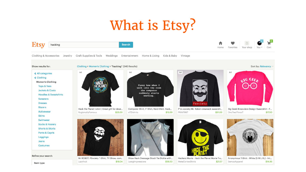 What is Etsy?