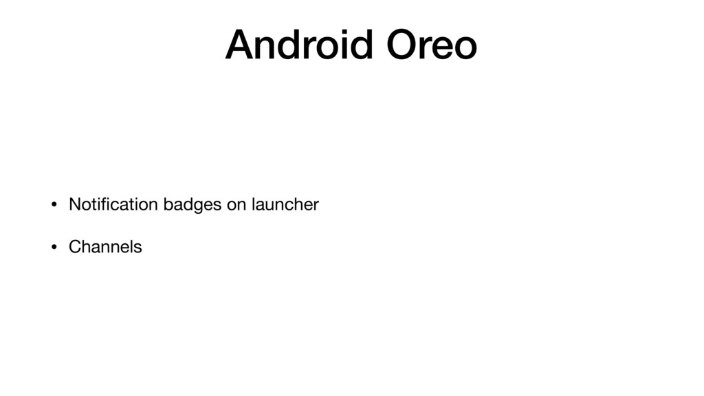 Android Oreo • Notification badges on launcher  ...