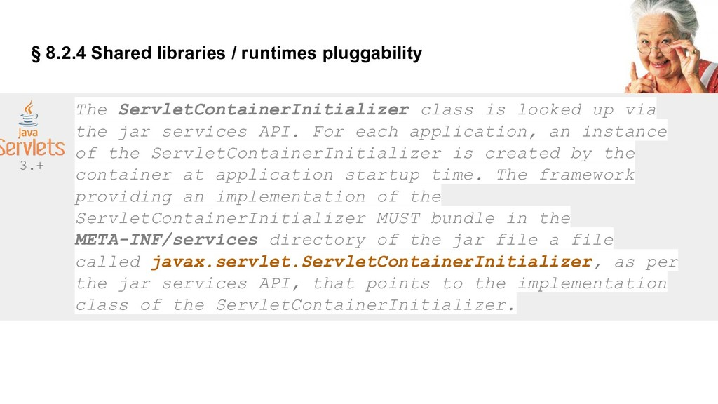 § 8.2.4 Shared libraries / runtimes pluggabilit...