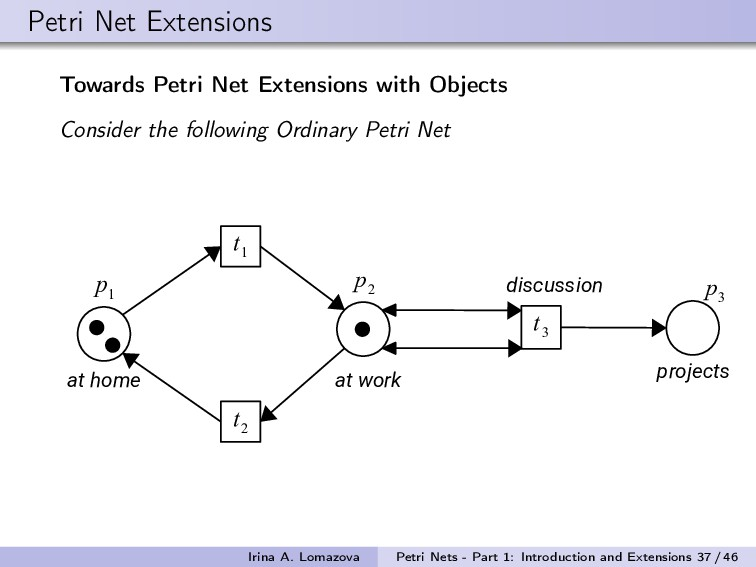Petri Net Extensions Towards Petri Net Extensio...