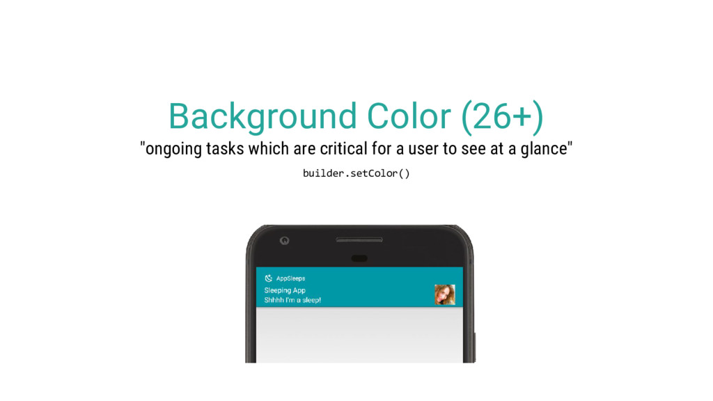 """Background Color (26+) """"ongoing tasks which are..."""