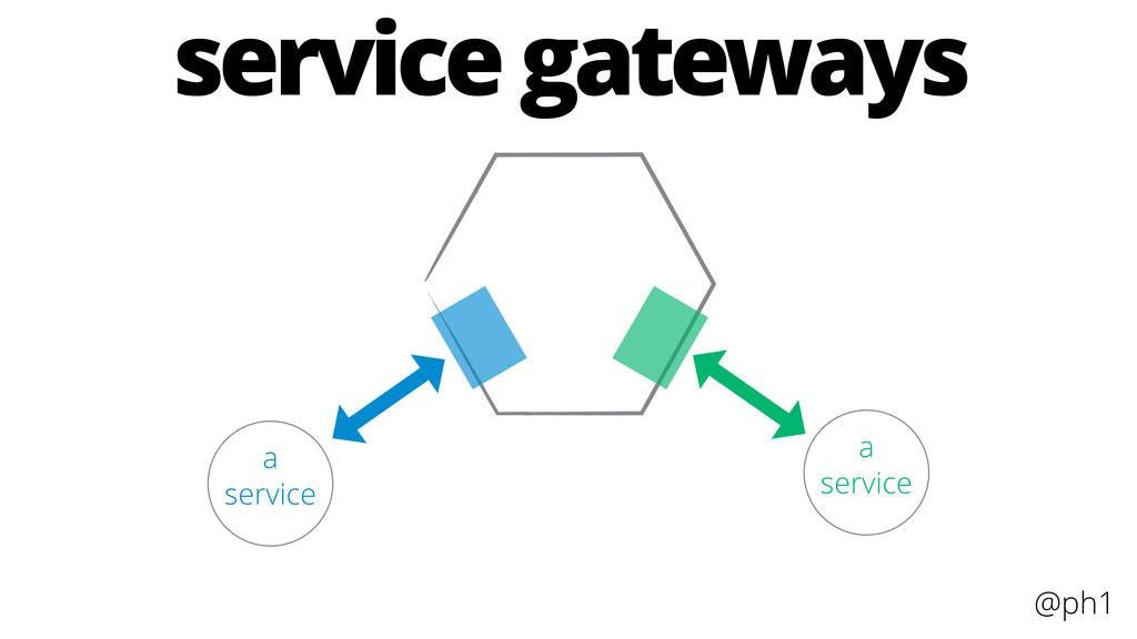 @ph1 a service a service service gateways