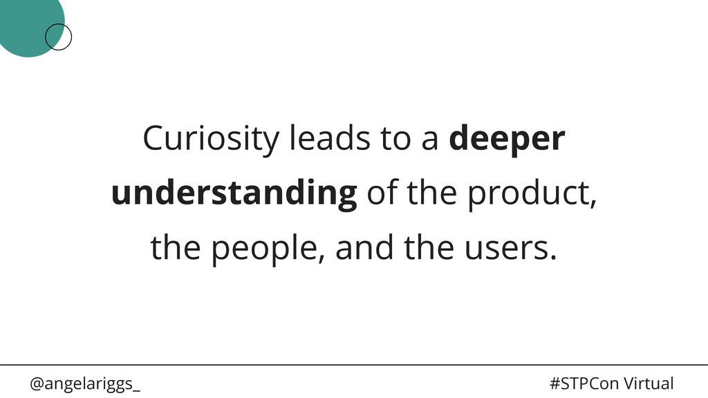 @angelariggs_ #STPCon Virtual Curiosity leads t...