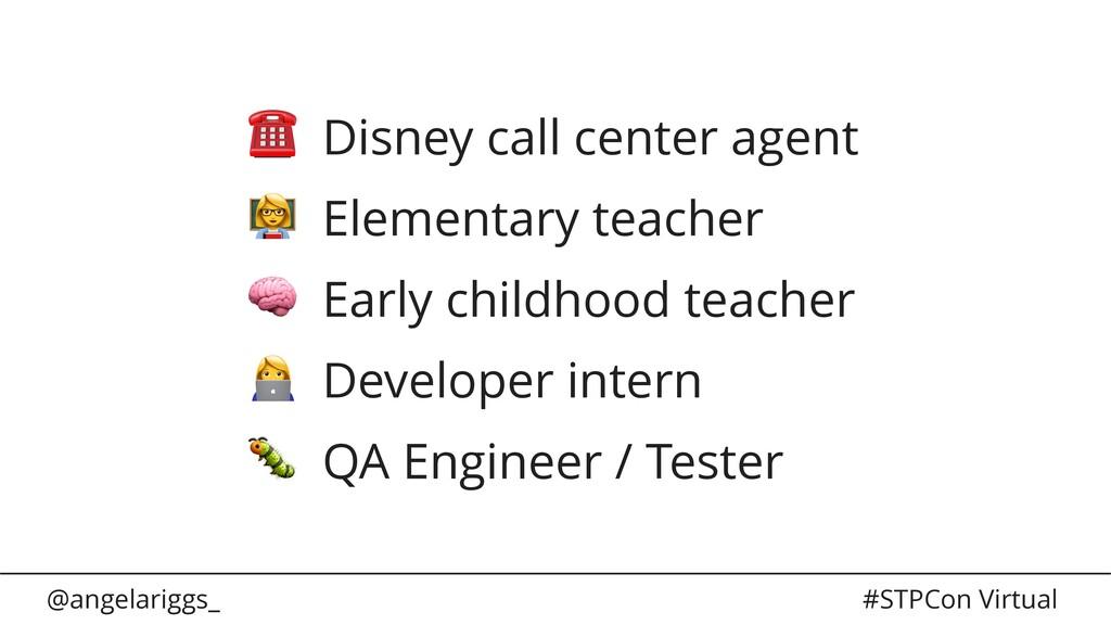 @angelariggs_ #STPCon Virtual ☎ Disney call cen...