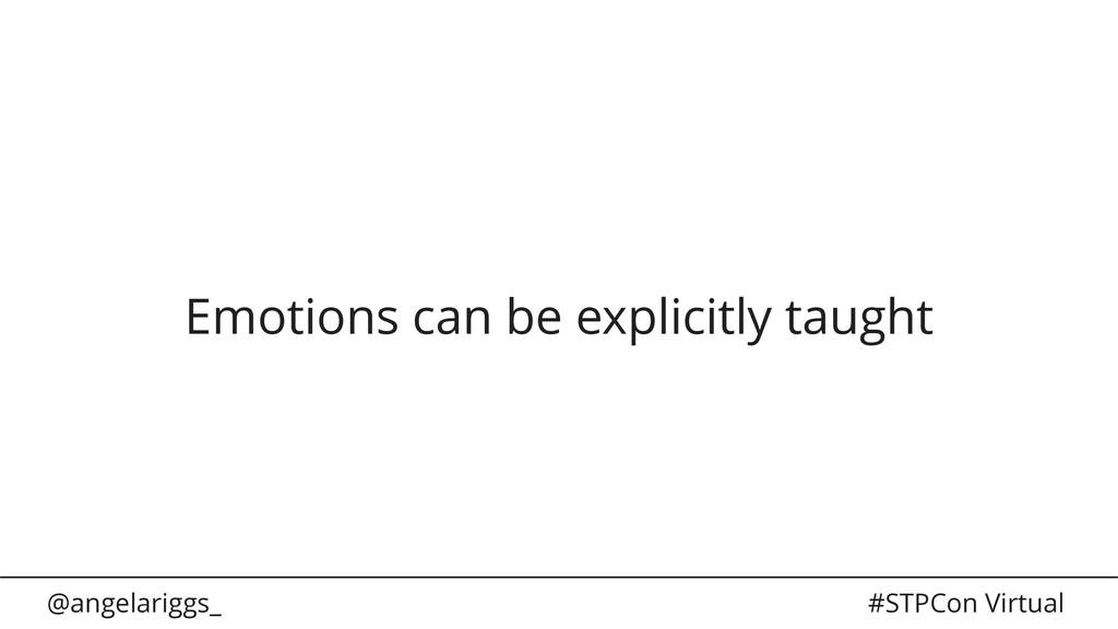 @angelariggs_ #STPCon Virtual Emotions can be e...