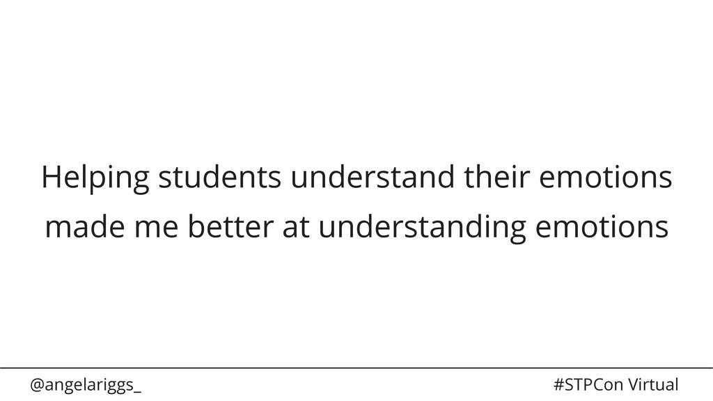 @angelariggs_ #STPCon Virtual Helping students ...