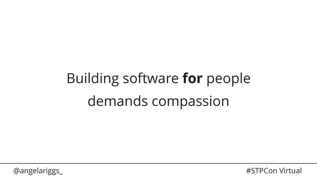 @angelariggs_ #STPCon Virtual Building software...