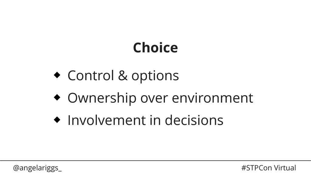 @angelariggs_ #STPCon Virtual Choice Control & ...