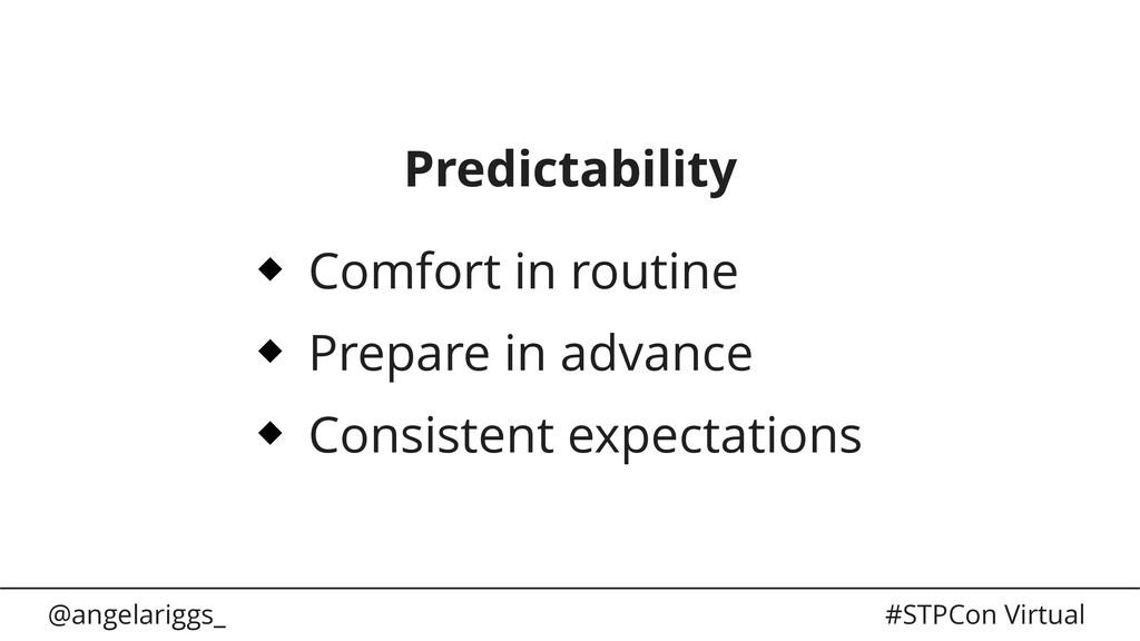 @angelariggs_ #STPCon Virtual Predictability Co...