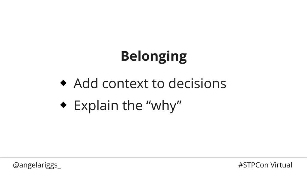 @angelariggs_ #STPCon Virtual Belonging Add con...