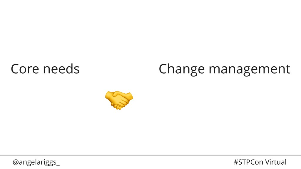 @angelariggs_ #STPCon Virtual Core needs Change...