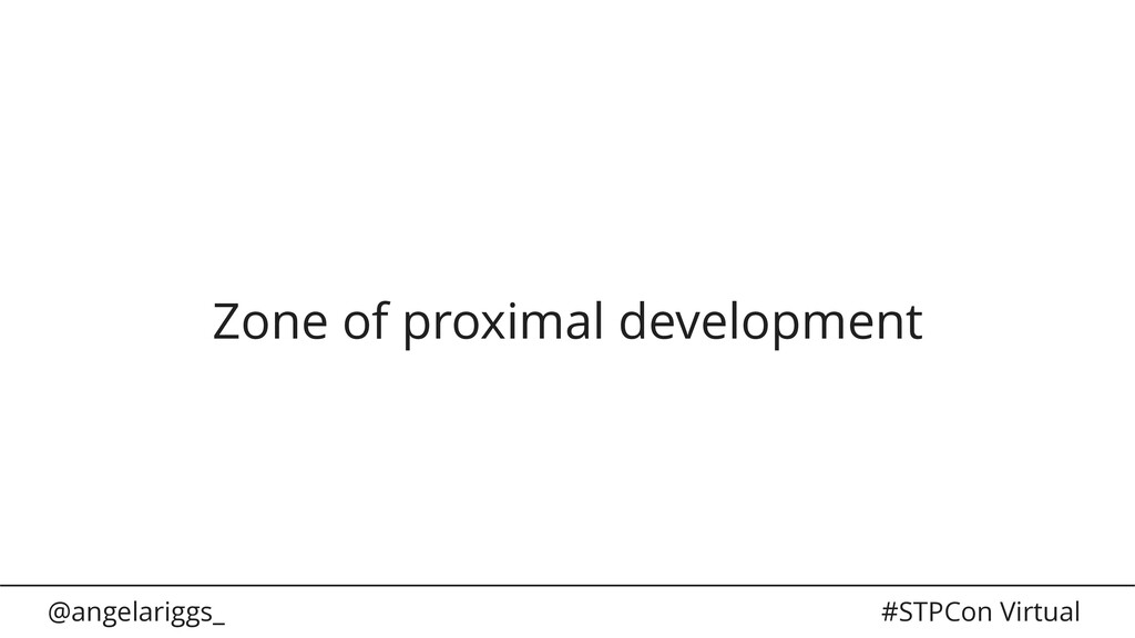 @angelariggs_ #STPCon Virtual Zone of proximal ...