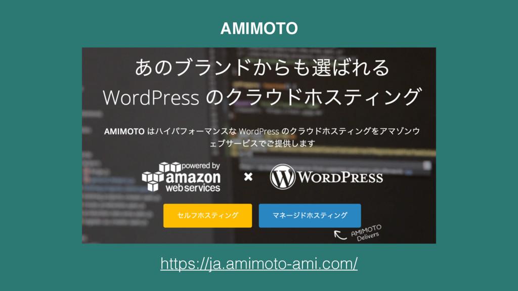 https://ja.amimoto-ami.com/ AMIMOTO