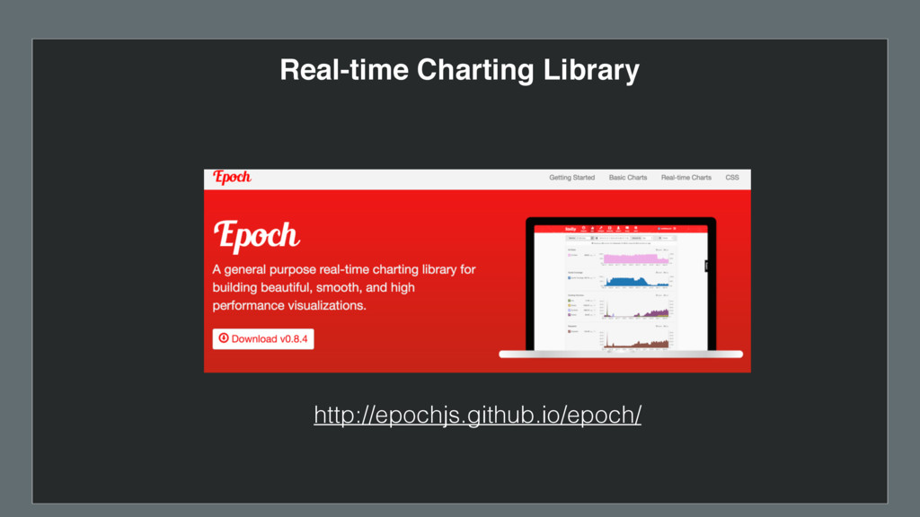 Real-time Charting Library http://epochjs.githu...