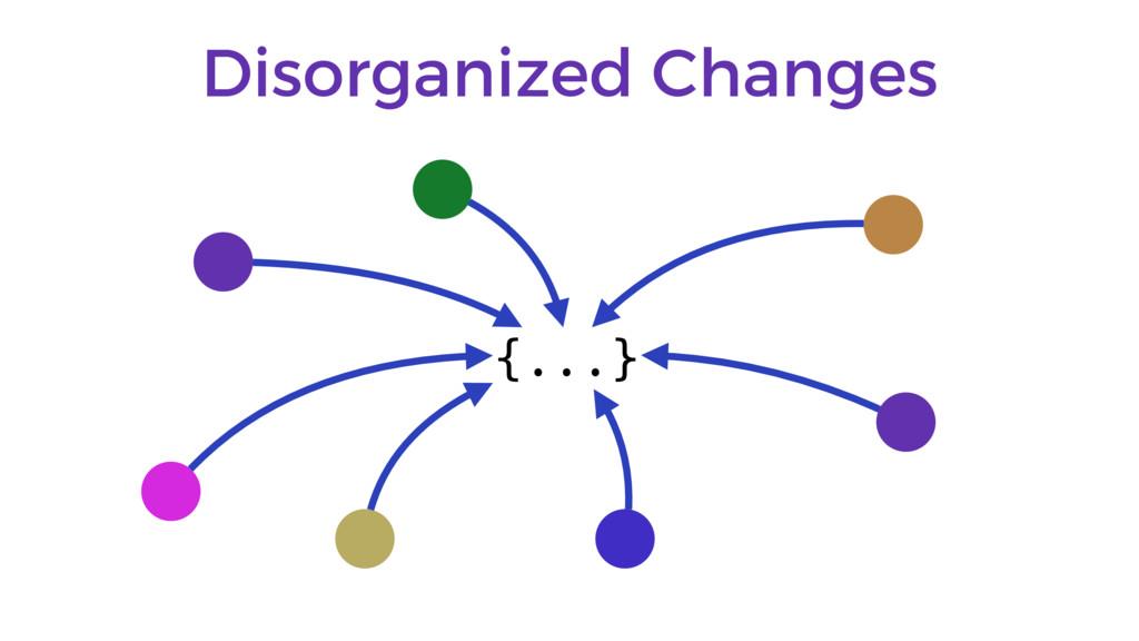 Disorganized Changes {...}