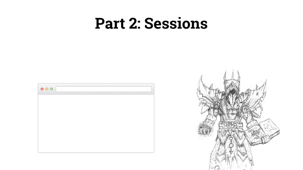 Part 2: Sessions