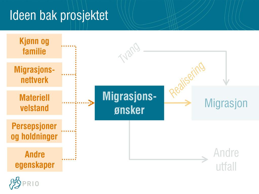 Migrasjon Andre utfall Migrasjons- nettverk Mat...