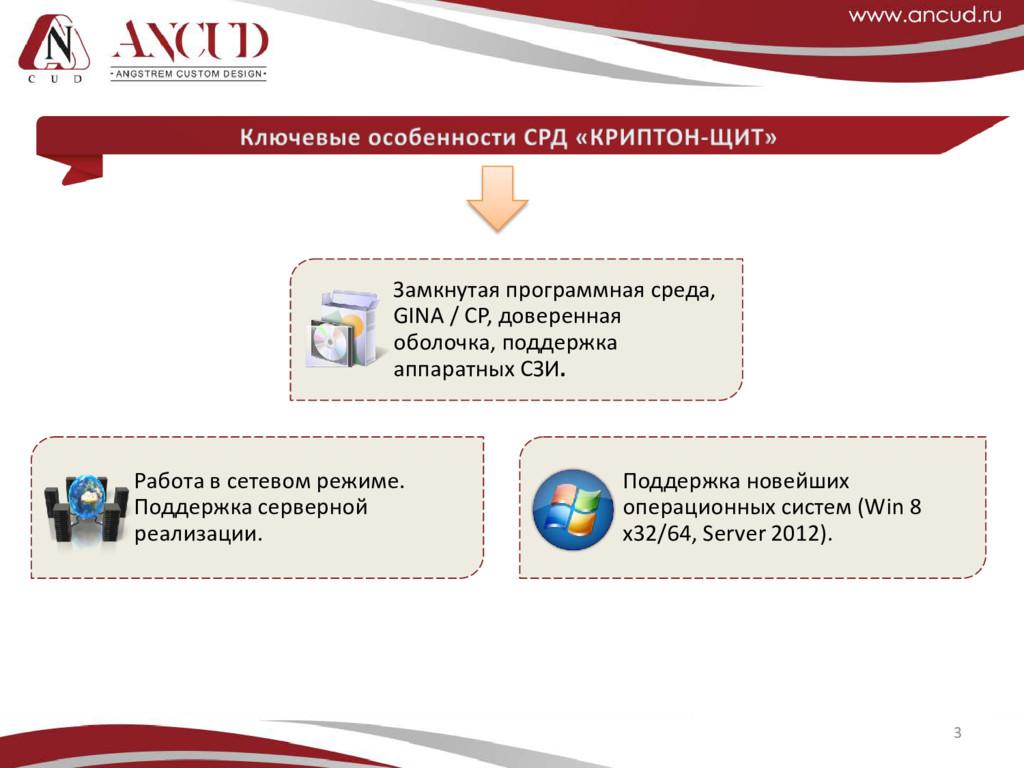 3 Замкнутая программная среда, GINA / CP, довер...