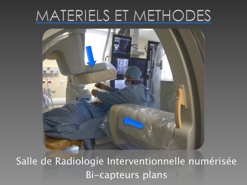 Salle de Radiologie Interventionnelle numérisée...
