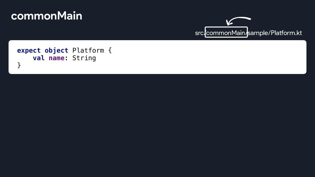 expect object Platform { val name: String } com...