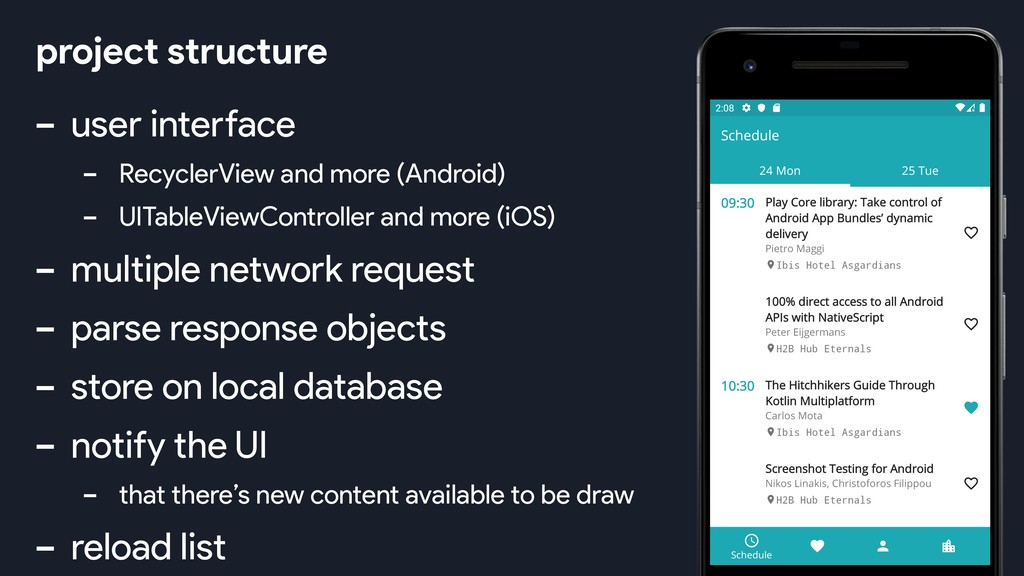 - user interface - RecyclerView and more (Andro...