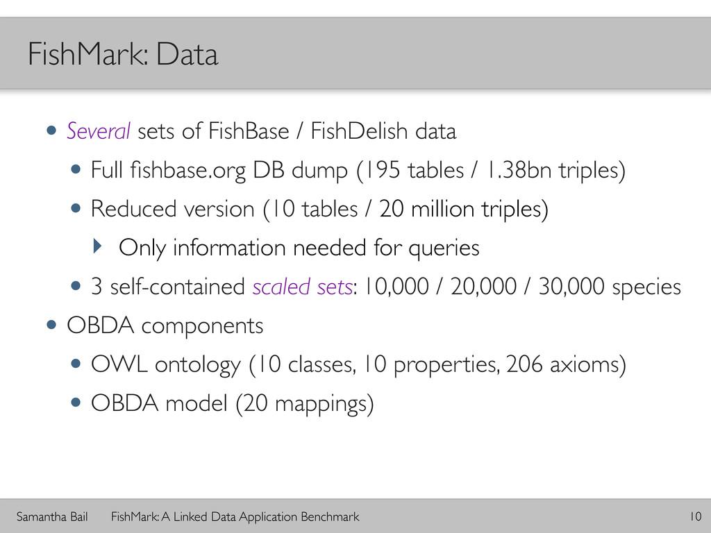Samantha Bail FishMark: A Linked Data Applicati...