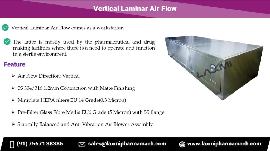 Vertical Laminar Air Flow Vertical Laminar Air ...