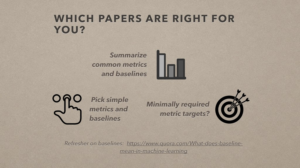 WHICH PAPERS ARE RIGHT FOR YOU? Summarize commo...