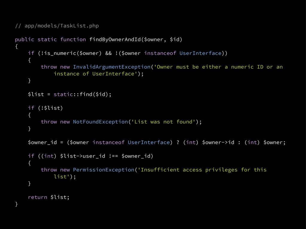 // app/models/TaskList.php public static functi...