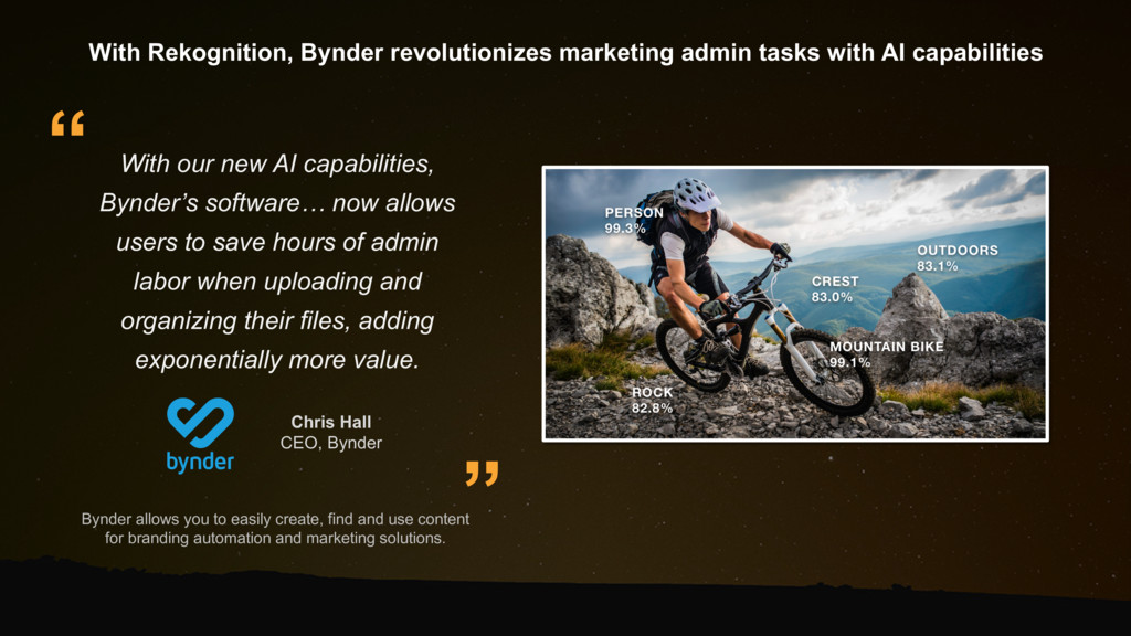Bynder allows you to easily create, find and us...