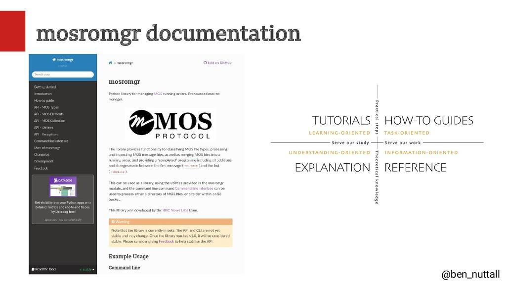 @ben_nuttall mosromgr documentation