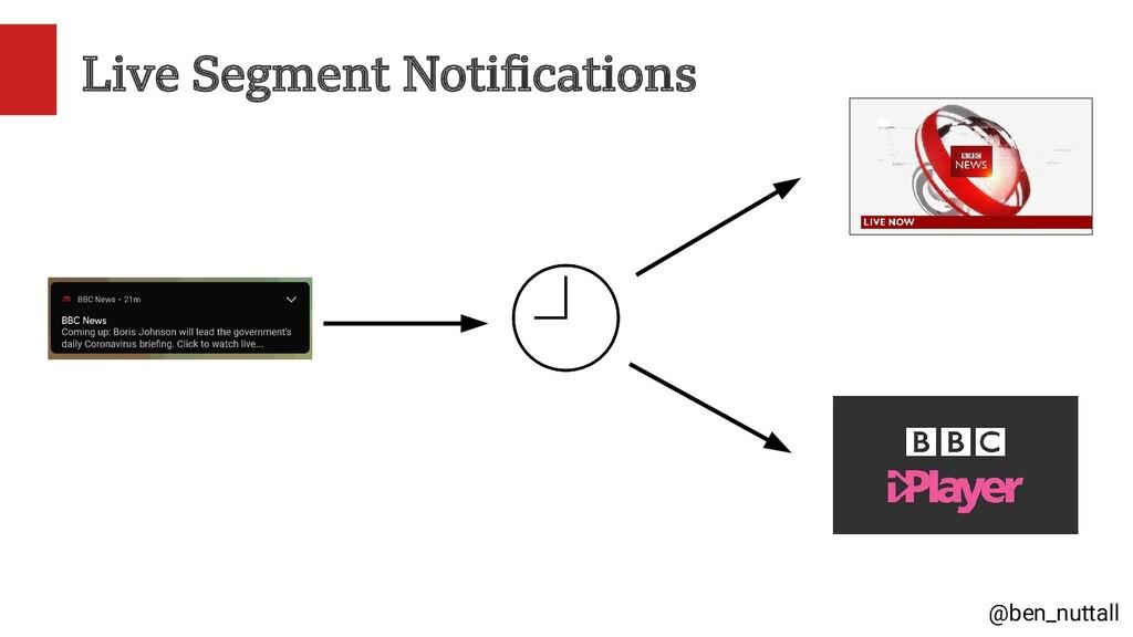 @ben_nuttall Live Segment Notifications