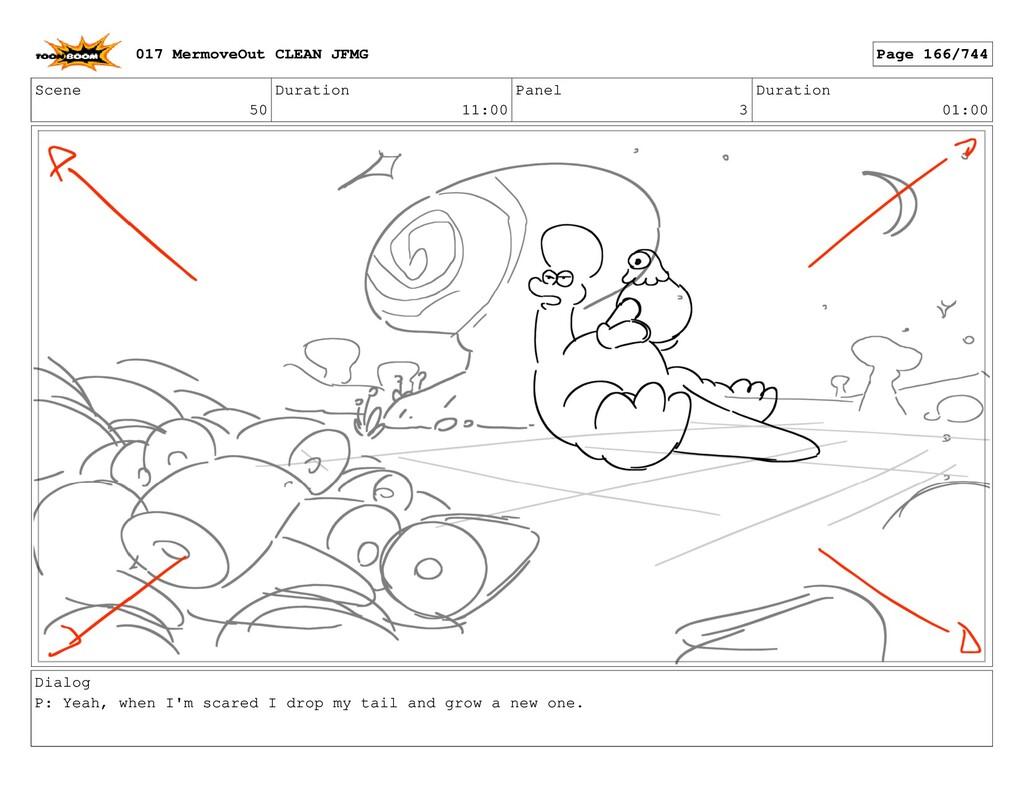 Scene 50 Duration 11:00 Panel 3 Duration 01:00 ...
