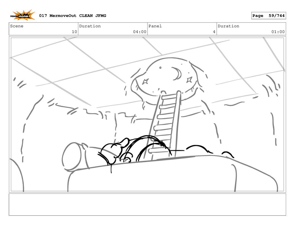 Scene 10 Duration 04:00 Panel 4 Duration 01:00 ...