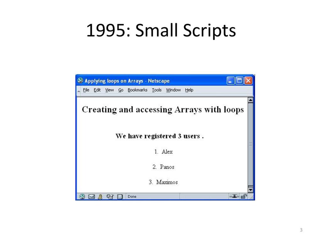 1995: Small Scripts 3