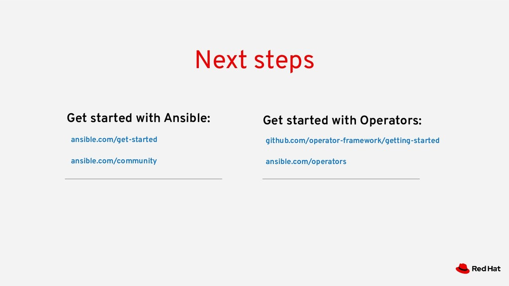Get started with Ansible: Get started with Oper...